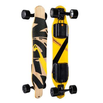 SWAGSKATE NG2 38-Inches A.I. Powered Longboard Electric Skateboard