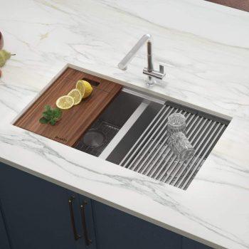 Ruvati RVH8350 33-inch Double Kitchen Sink