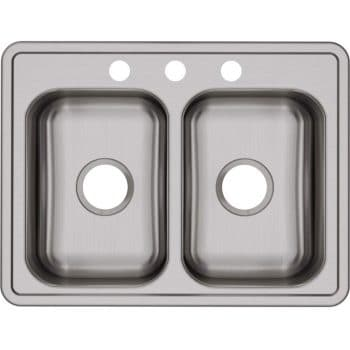 Elkay D225193 Equal Double Kitchen Sink