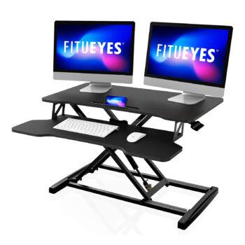 FITUEYES Height-Adjustable Standing Desk