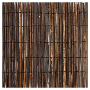 Master Garden Rolled Willow Fence