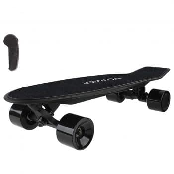 Voyager Black Neutrino Compact Cruiser Powerful Electric Skateboard