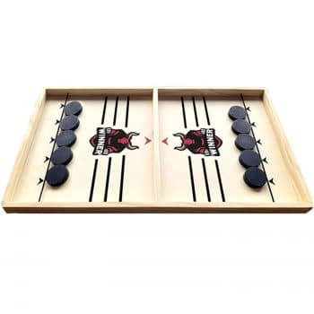 CHUWUJU Wooden Hockey Game for Kids and Adults 55x30cm