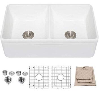 Lordear 33 inch Double Kitchen Sink