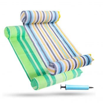 FindUWill 2-Pack Premium Multi-Purpose Inflatable Water Hammock