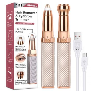 HWLL Rechargeable Eyebrow Trimmer