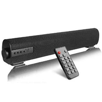 QSPORTPARK Portable Soundbar Wireless Sub woofer