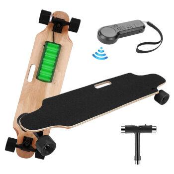 elifine Youth Longboard Electric Skateboard