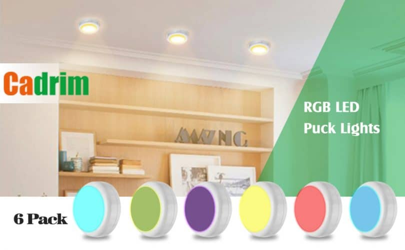 Wireless Led Lights with Remote