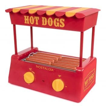 Nostalgia's HDR8RY Hot Dog Roller and Bun Warmer