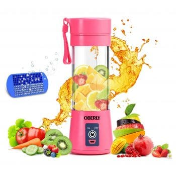 OBERLY Six Blades in 3D Portable Small Blender