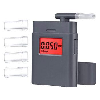 Shaboo Prints Digital Alcohol Tester, Grey