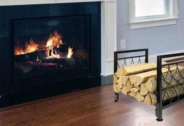 Outdoor Firewood Rack