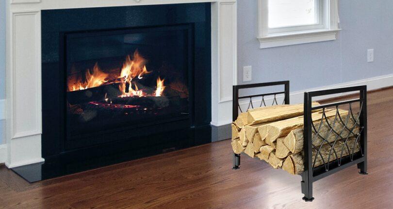 Outdoor Firewood Rack