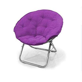 Urban Shop, Microsuede Saucer Chair