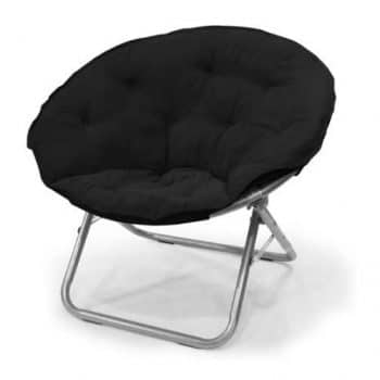 Mainstay Large Microsuede Saucer Chair