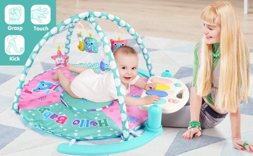 Baby Play Mat with Piano