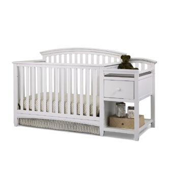 Imagio Baby 4-in-1 Crib, White