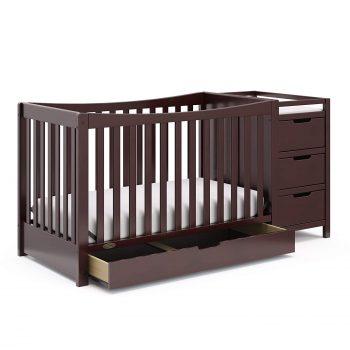 Graco Remi Convertible Crib, Adjustable Height Mattress