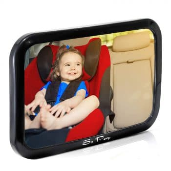 So Peep Baby Car Mirror