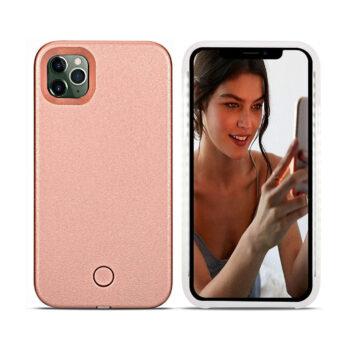 Avkkey iPhone 12 Pro Max Led Case