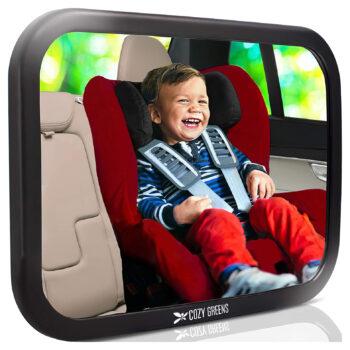 COZY GREENS Baby Car Mirror