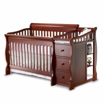 Sorelle Tuscany Convertible Crib & Changer Combo