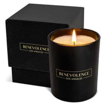 Benevolence LA Premium Rose and Sandalwood Candle