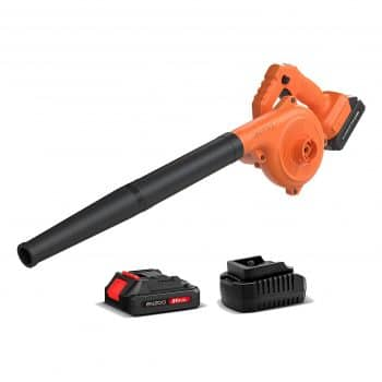 ENZOO Cordless Leaf Blower with a 2.0Ah Lithium-Ion Battery