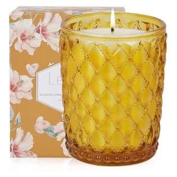 Leize Sandalwood Aromatherapy Candles