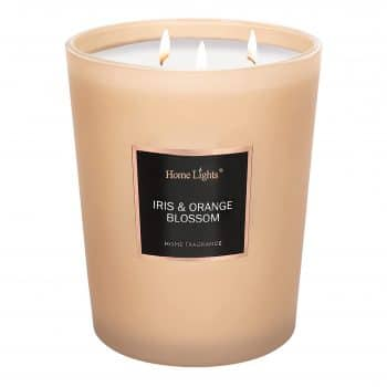 HomeLights Scented Candles- 70 Hours Burn Time