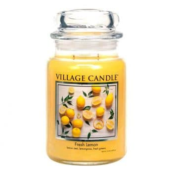 Village Candle Glass Jar Scented Candle