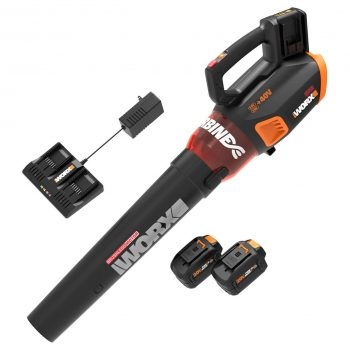 WORX WG584.1 Blower with a Battery and Charger