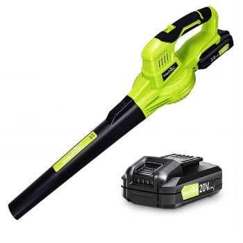 SnapFresh 20V Leaf Blower with Battery and Charger