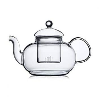 CnGlass Glass Teapot with a Removable Infuser