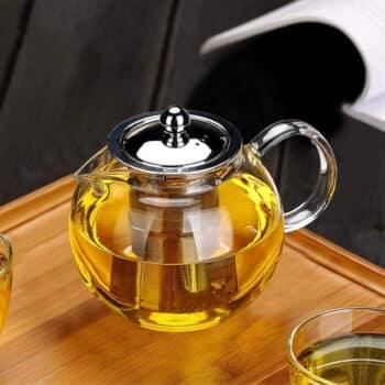 OBOR Glass Teapot, Stovetop Safe (650ml)