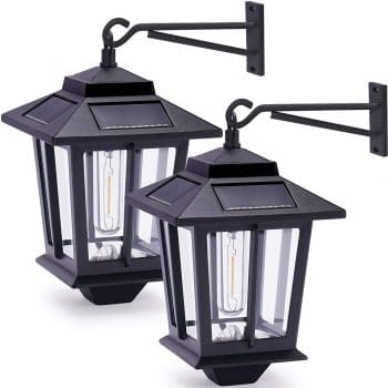PASAMIC Wall Mounted Solar Light Outdoor
