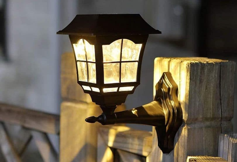 Wall Mounted Solar Lights Outdoors